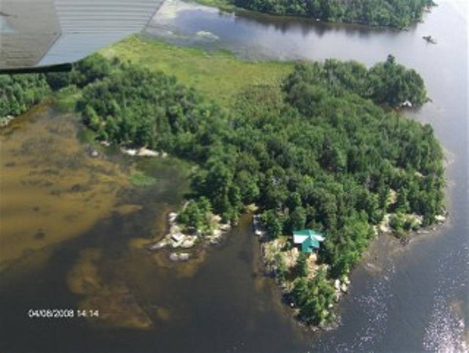 Island for sale north bay ontario canada private for Ecoflow septic system