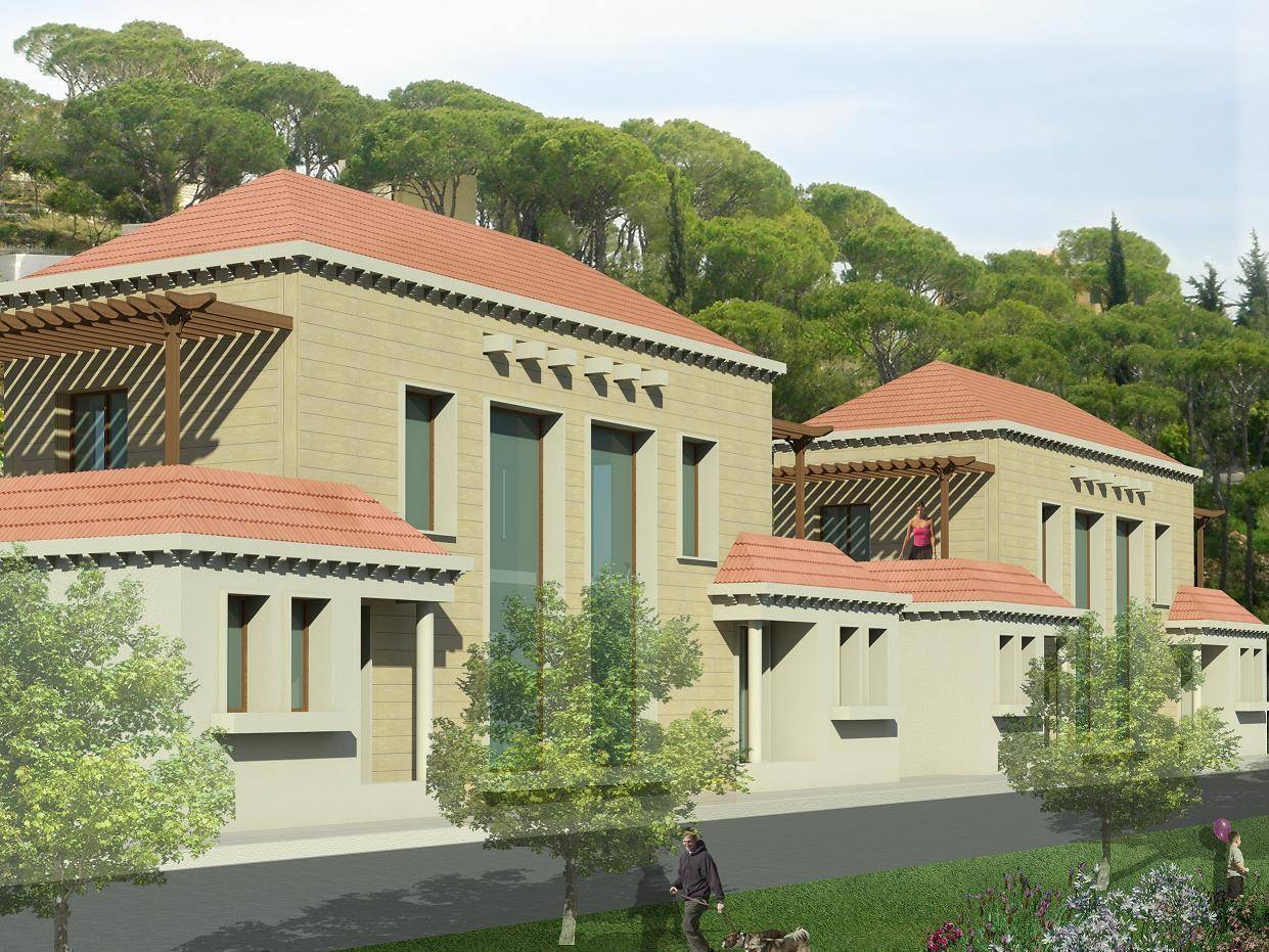 Villa for sale in lebanon located in aley md607623 lebanon mont liban baabdat villa for - Libanese villa ...
