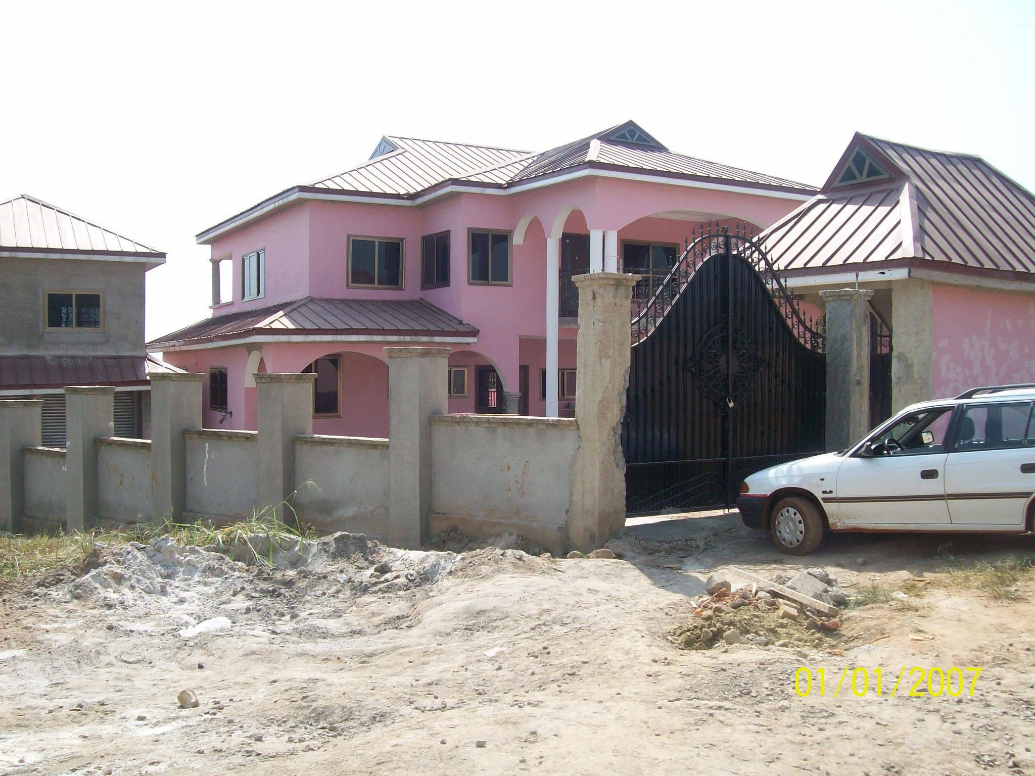 Affordable bedroom all en suite building kumasi ahenema kokobene new site with modern houses in ghana