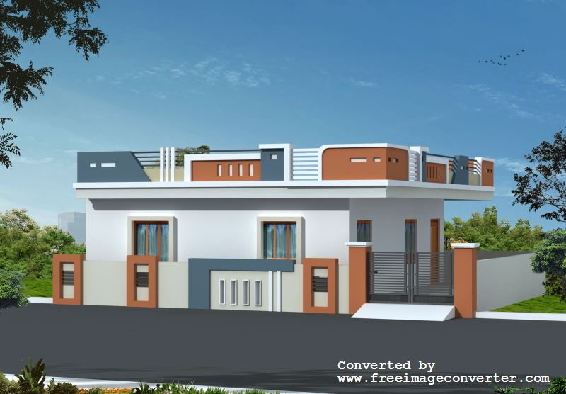 Individual house plans in andhra pradesh for Good house photos