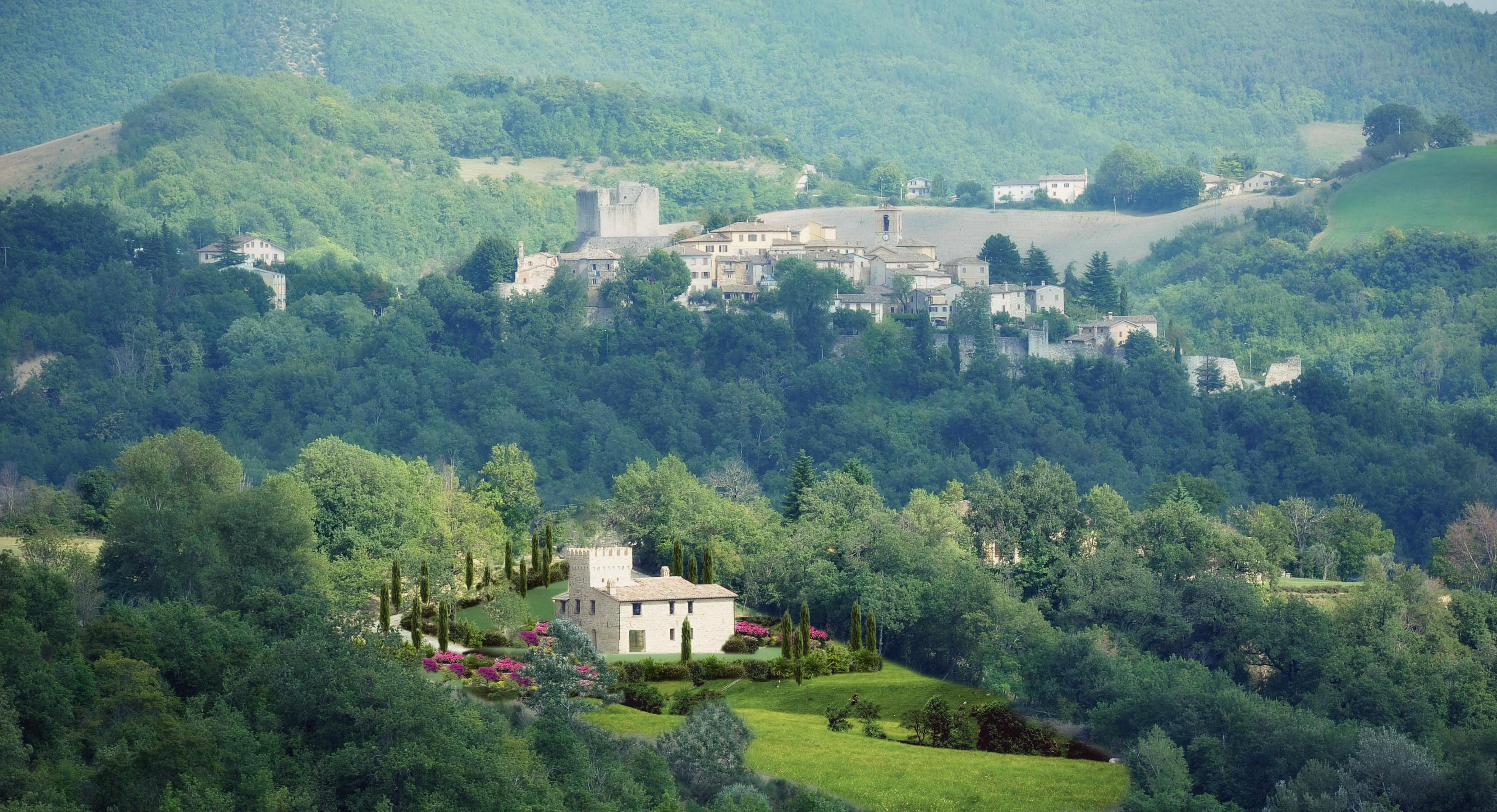 Замок в италии купить недорого