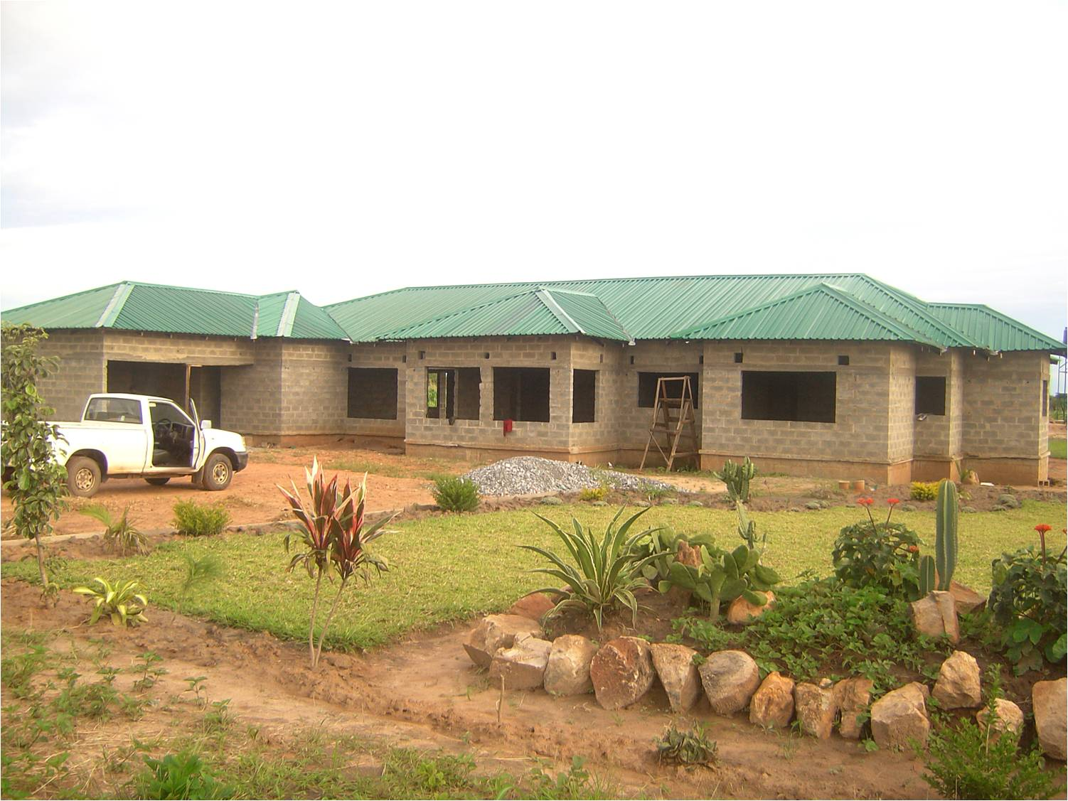 Incomplete House For Sale Ndola Zambia Md2438889