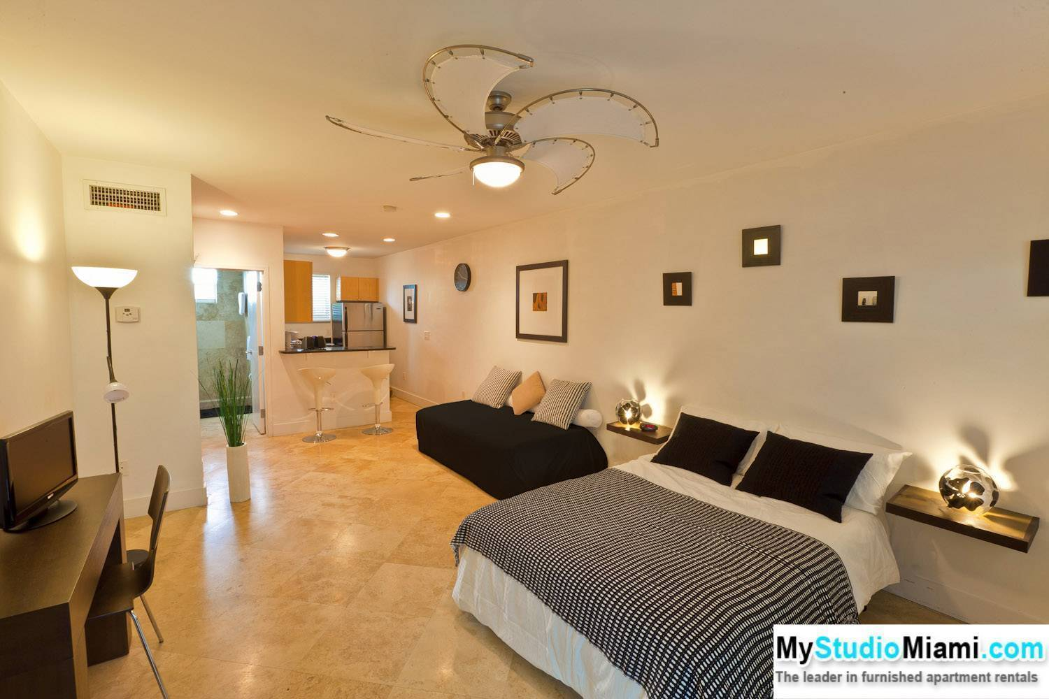 Apartment For Rent Miami Florida United States Fully Furnished Studio Vacation Rental In