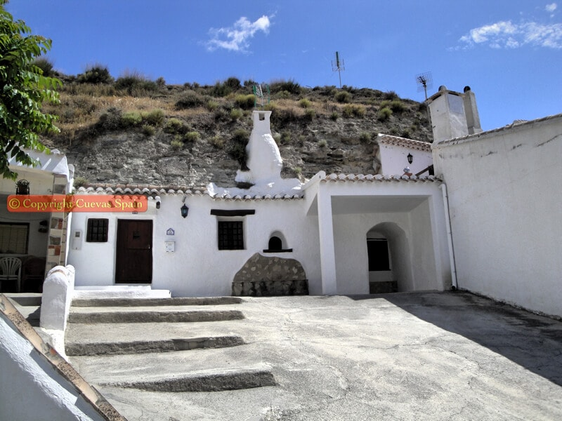 Cave House For Sale Galera Andalucia Spain Galera Cave