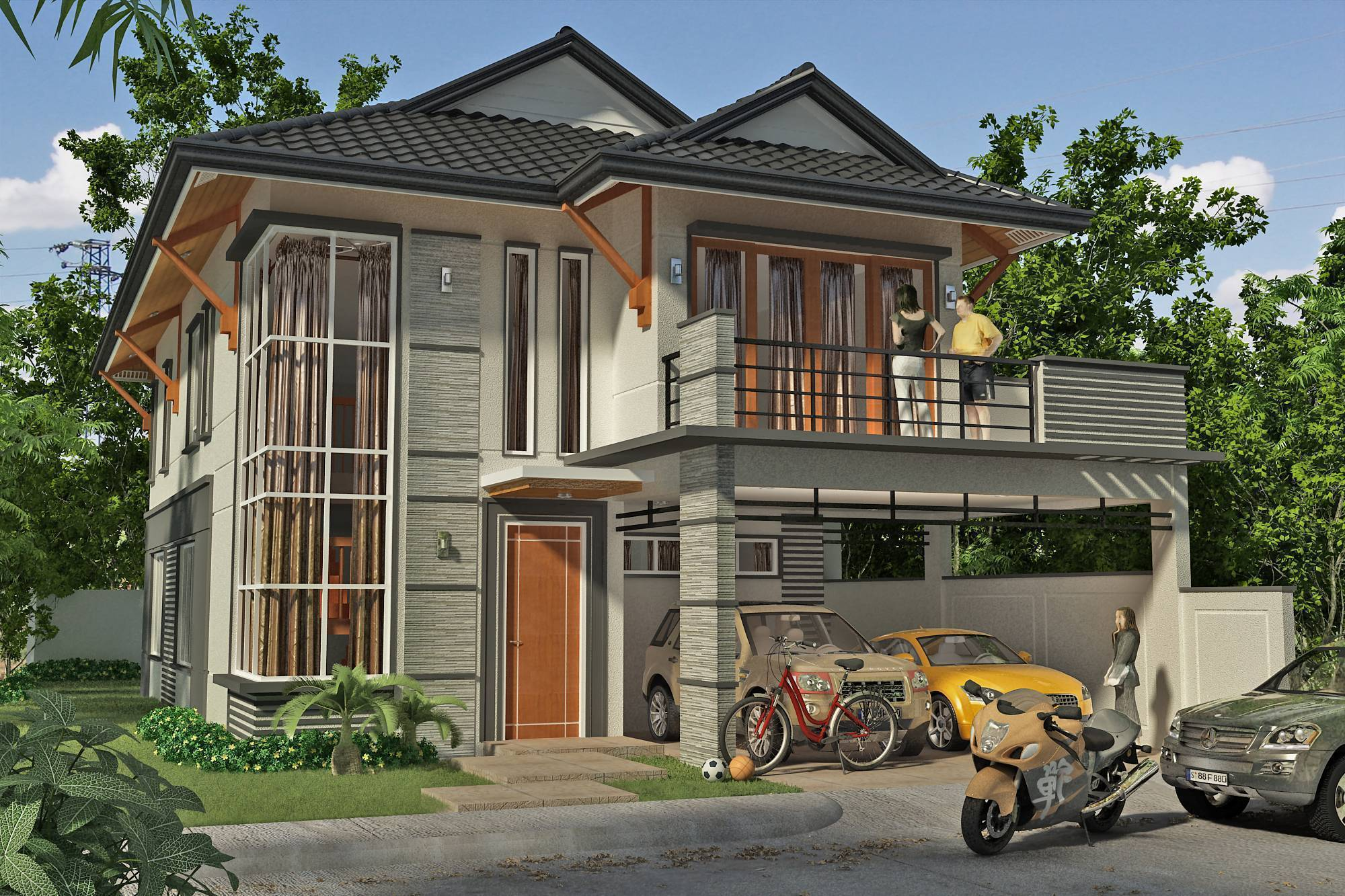 House for sale quezon city manila philippines quezon for Modern house quezon city