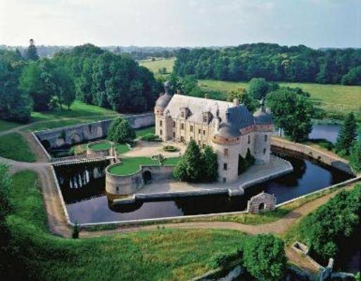 Castle For Sale La Souterraine Limousin France