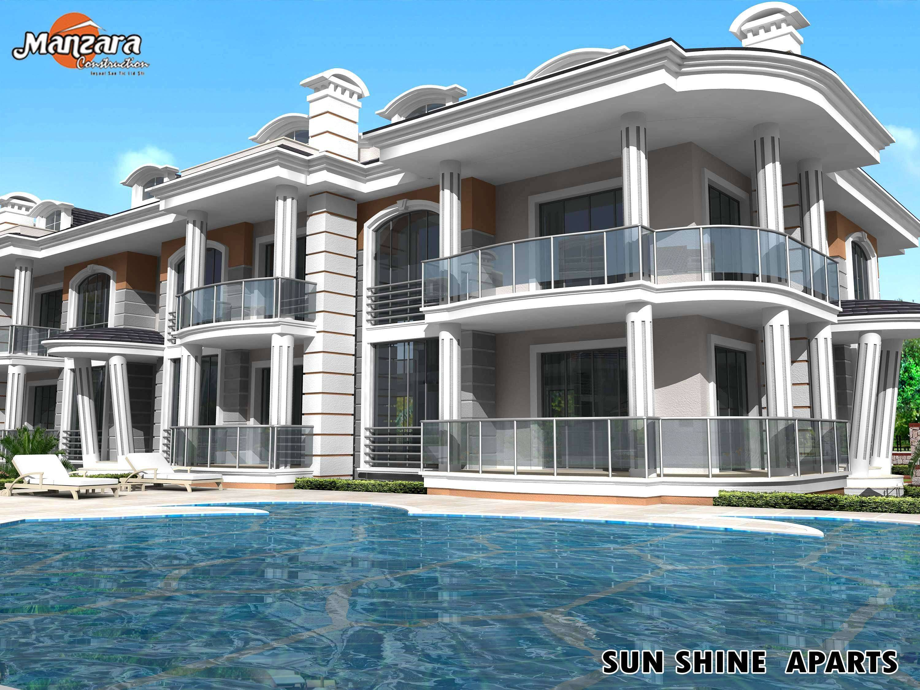 Apartment For Sale Fethiye, Mugla, Turkey   Manzara Construction Sunshine  Investment Apartments Calis (MD242019), 64,000 GBP, 2009 10 02    Mondinion.com ...